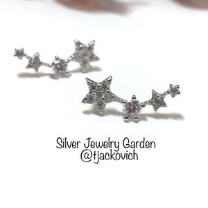 Sterling Silver Star sear Climbers